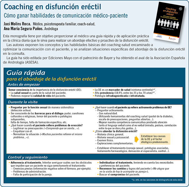 COACHING EN DISFUNCION ERECTIL